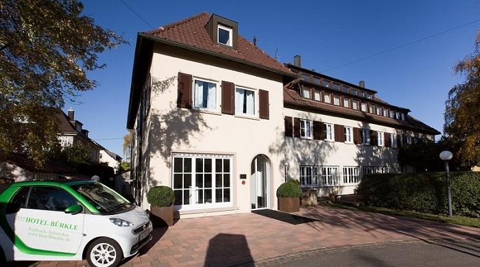Hotel Buerkle Haupteingang