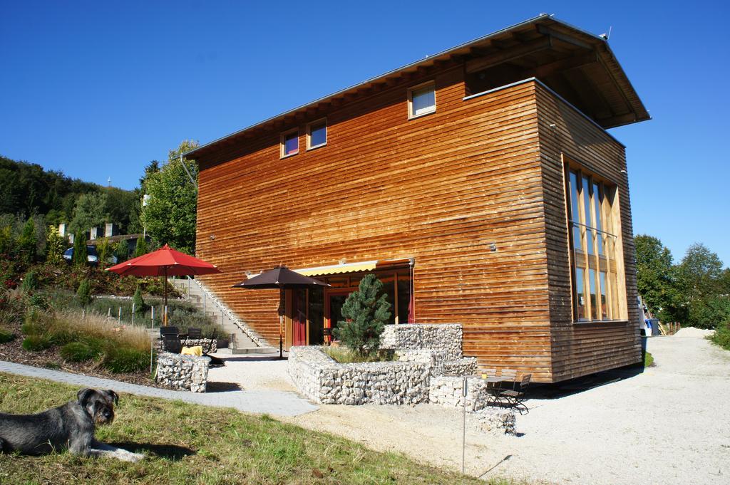 Alb Lodge Terrasse