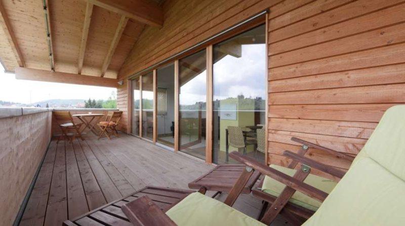 Alb Lodge Traumblick Terrasse