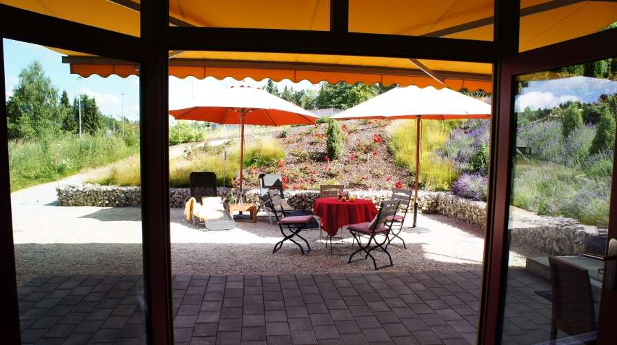 Alb_Lodge Gartenzauber Terrasse