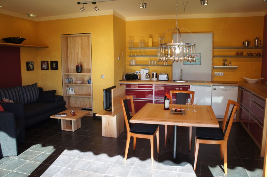 Alb Lodge Gartenzauber Küche